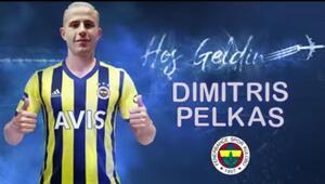 Son Dakika | Fenerbahçe, Dimitrios Pelkas transferini açıkladı