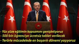 Son dakika haberi: Cumhurbaşkanı Erdoğandan önemli açıklamalar
