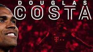 Brezilyalı futbolcu Douglas Costa, Bayern Münihe geri döndü
