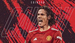 Son dakika transfer haberi | Edinson Cavani resmen Manchester Unitedda