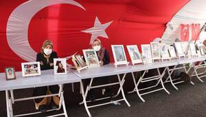 Ailelerin, HDP önündeki eylemde 400'üncü gün