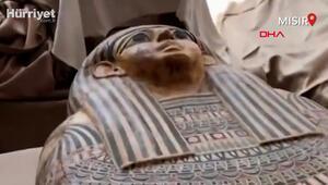 Mısırda 2500 yıllık mumya lahitleri ilk kez açıldı