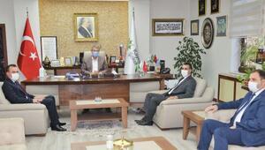KayseriSMMMOdan Başkan Akaya ziyaret