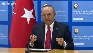 Mevlüt Çavuşoğlu: Bu insanlık suçudur (Ermenistanın sivil yerleşimlere saldırısı)