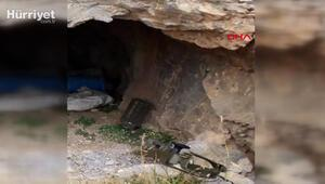 Son dakika haberi... MSB: Hakkaride PKKya ait mağara kullanılmaz hale getirildi