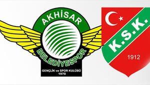 Akhisarspor ve Karşıyaka yasakları kaldıramadı 20 Ege kulübü arasında...