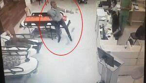 İzmirde biri kadın 2 doktor ile polisi darp ettiler