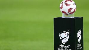 Ziraat Türkiye Kupasında ilk iki eleme turunun maç programı açıklandı