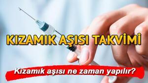 Kızamık aşısı ne zaman yapılır İşte Sağlık Bakanlığı kızamık aşısı takvimi