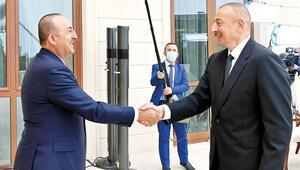 Çavuşoğlu: Yanınızdayız ; Aliyev: Müteşekkiriz