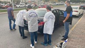 İstanbulda lüks otomobilin bagajından 70 bin doları çalıp kaçtılar