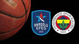 Euroleaguede Türk Derbisi Anadolu Efesin konuğu Fenerbahçe Beko...