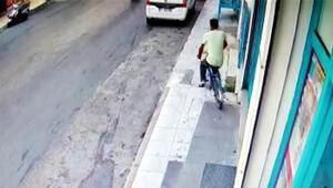 Kameradaki 5 bisiklet hırsızlığı şüphelisi yakalandı