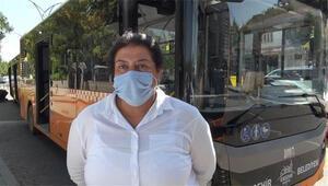 25 yıllık şoför Fatma, şimdi de belediye otobüsü kullanıyor