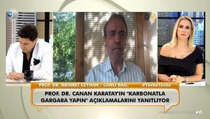 Prof. Dr. Mehmet Ceyhan, Karatayın Karbonatla gargara yapın açıklamalarını eleştirdi