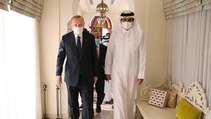 Son dakika haberi: Cumhurbaşkanı Recep Tayyip Erdoğan Katarda