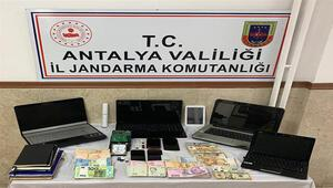 Manavgat'ta yasa dışı bahis operasyonu