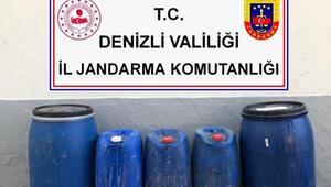 410 litre kaçak alkol piyasaya sürülmeden yakalandı