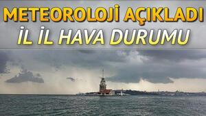 Hava bugün nasıl olacak 8 Ekim Perşembe Meteoroloji İstanbul, Ankara, İzmir il il hava durumu tahminleri