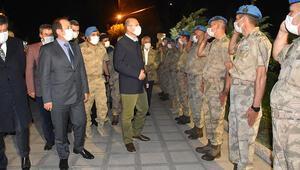 İçişleri Bakanı Süleyman Soylu Şırnakta