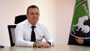 Denizlispor Başkanı Ali Çetin: Daha iyi bir takım olacağımıza inanıyorum...