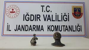 Iğdır'da tarihi eser kaçakçılığı