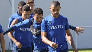 Trabzonsporda Başakşehir maçının hazırlıkları devam ediyor