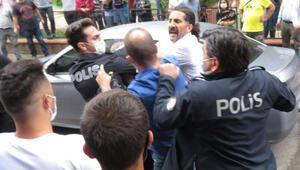 Son dakika Kadıköyde kuyumcu soygunu girişimi... Darp edilmesini polis önledi