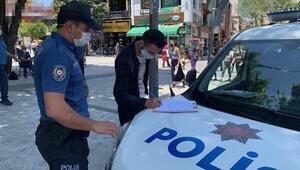 Isparta'da bin 176 kişiye maske cezası