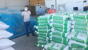 Karakoçanda çiftçiye tohum desteği