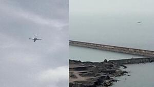 Son dakika haberler: Zonguldakta uçak düştü ihbarı ekipleri harekete geçirdi