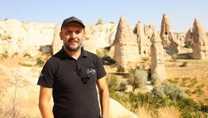 Kapadokya gelin ve damatların doğal stüdyosu oldu