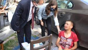 Kriz geçiren madde bağımlısı genç hastaneye kaldırıldı