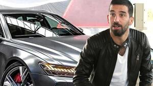 Yeni takım yeni araba Arda Turan servet harcadı...