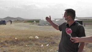 2 kişinin testi pozitif çıktı, tarım işçilerinin yaşadığı çadırlar bölgesi karantinaya alındı