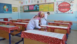 Elazığ'daki köy okulları eğitime hazırlanıyor