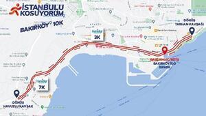 İstanbulu Koşuyorum Bakırköy etabında 400 İstanbullu yarışacak