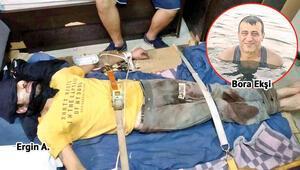 Son dakika haberler: Gemi kaptanı Bora Ekşiyi canice öldüren sanık hakim karşısına çıktı
