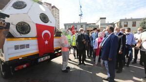 Talas Belediyesinde araç filosu genişletildi