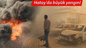 Son dakika haberi: Hatayda büyük yangın… Bakan Pakdemirliden flaş sözler: Tahliyesini istedik