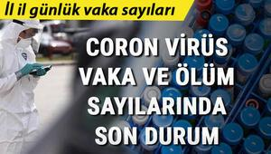Son dakika: İl il korona virüs tablosu vaka, iyileşen ve hasta sayısı - Sağlık Bakanlığı illere göre 9 Ekim koronavirüs günlük Türkiye tablosunu açıkladı