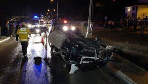 Karabükte feci kaza 4 yaralı