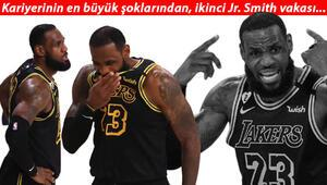 Son Dakika | Los Angeles Lakers - Miami Heat maçında LeBron James çıldırdı Yeni J.R. Smith vakası...