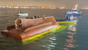 Son dakika haberi: Fatihte tekne alabora oldu