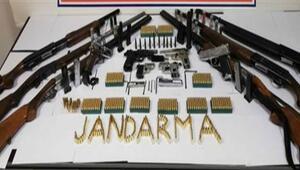 Tekirdağ'da silah kaçakçılarına operasyon