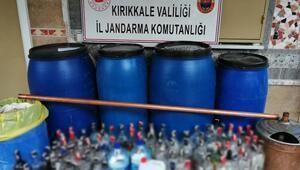 Kırıkkalede 'sahte içki' operasyonu: 4 bin 819 litre ele geçirildi