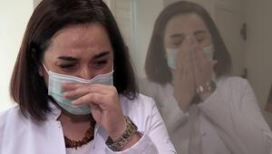Son dakika haberi: Koronavirüsü yenen doktor yaşadıklarını ağlayarak anlattı