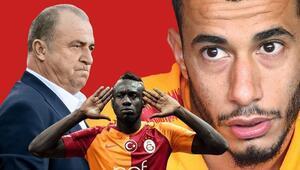 Son Dakika | Galatasarayda Belhanda ve Feghouli krizi sonrası Diagne ve Falcaodan Fatih Terime mesaj...