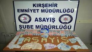 Kırşehir'de kumar oynayan 16 kişiye 71 bin lira ceza