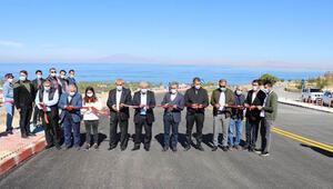 Van Gölü manzaralı yol hizmete açıldı